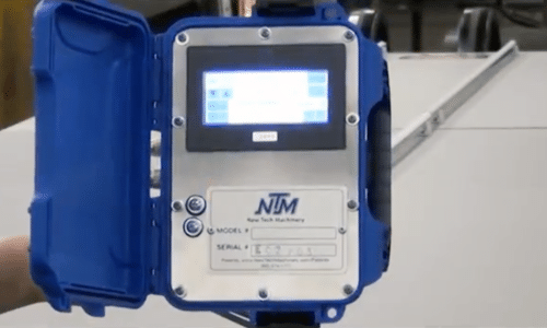 (video) EZ-Counter Computerized Length Controller for SSR™ Roof Panel Machines & MACH II™ Gutter Machines