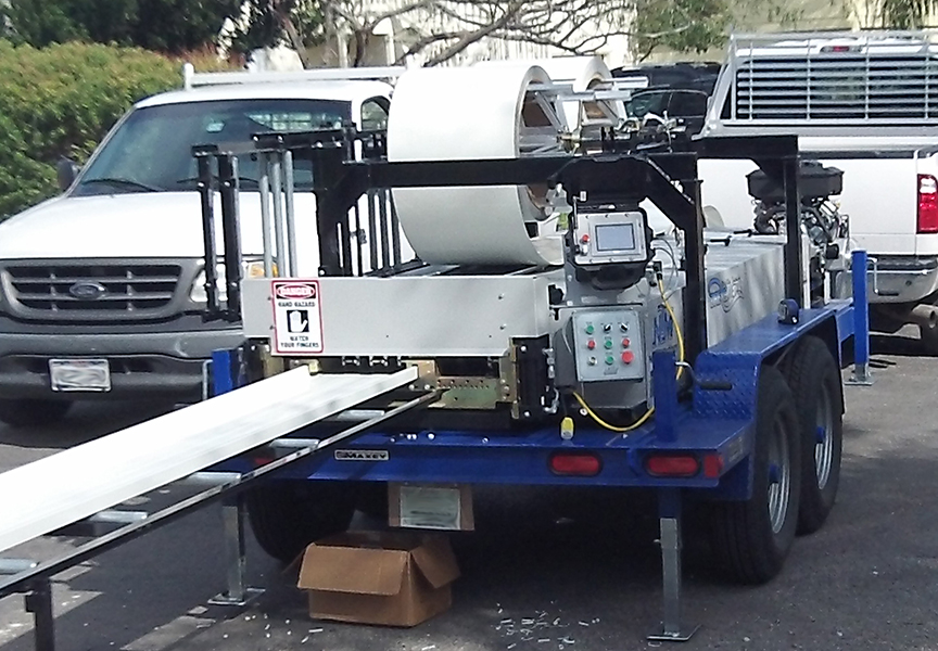 (article) What Is a Portable Rollforming Machine? Equipment Types & Uses