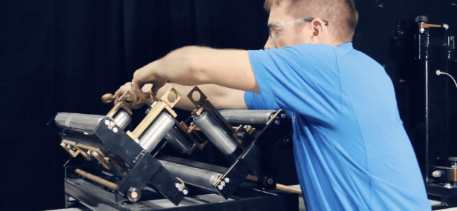(video) How to Load Coil on an NTM Gutter Machine: Cradle and Reel & Turnstile