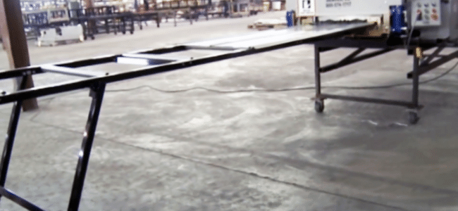 (video) How to Set Up a Run Out Table for a Roof Panel Machine
