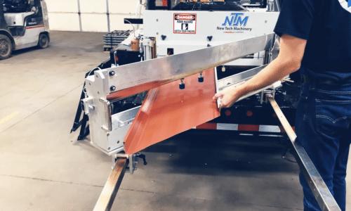 (video) NTM SSQ II™ Panel Machine Demo: Notching & Angle Cutting