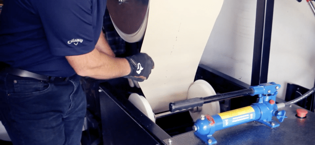 (video) How to Feed Coil into a New Tech Nasser MultiPro™ Gutter Machine