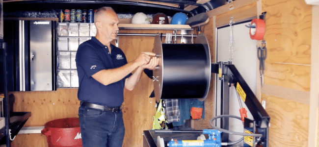 (video) How to Load Coil on a New Tech Nasser MultiPro™ Gutter Machine