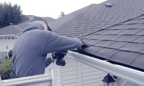 (video) How to Install Gutters on a House with No Fascia Board