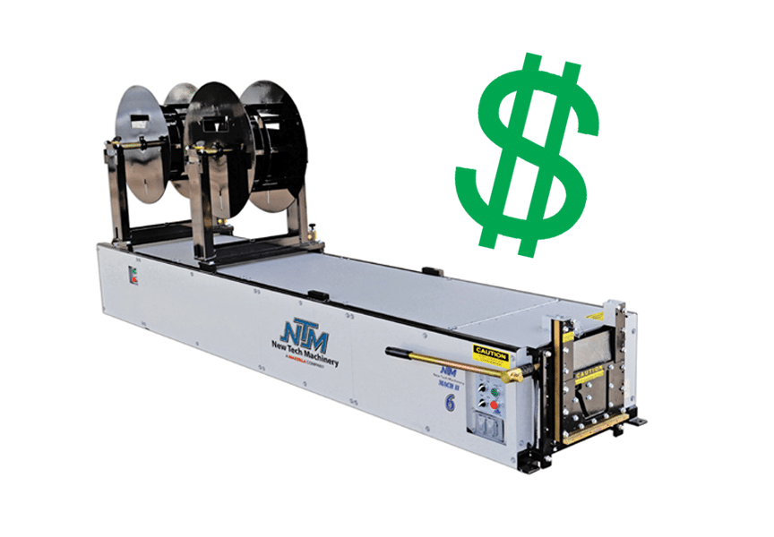 (article) Cost & What to Look for When Buying a Portable Seamless Gutter Machine