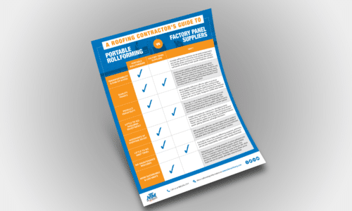 (download) Download the Portable Rollforming vs. Factory Panel Suppliers: A Roofing Contractor's Guide