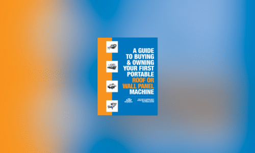 (article) New Tech Machinery Publishes Portable Roof Panel Machine E-Book
