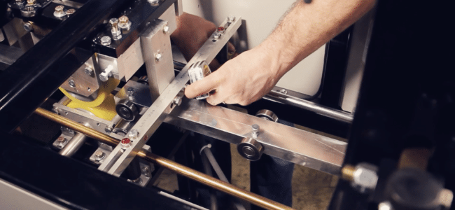 (video) Entry Guide Adjustment on an NTM MACH II™ Gutter Machine