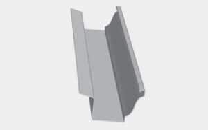 "MG6-BF15 - 6""with Back Flange (1.5"")"