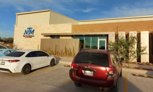(article) New Tech Machinery Announces Production Is Underway at New Manufacturing Facility in Hermosillo, Mexico