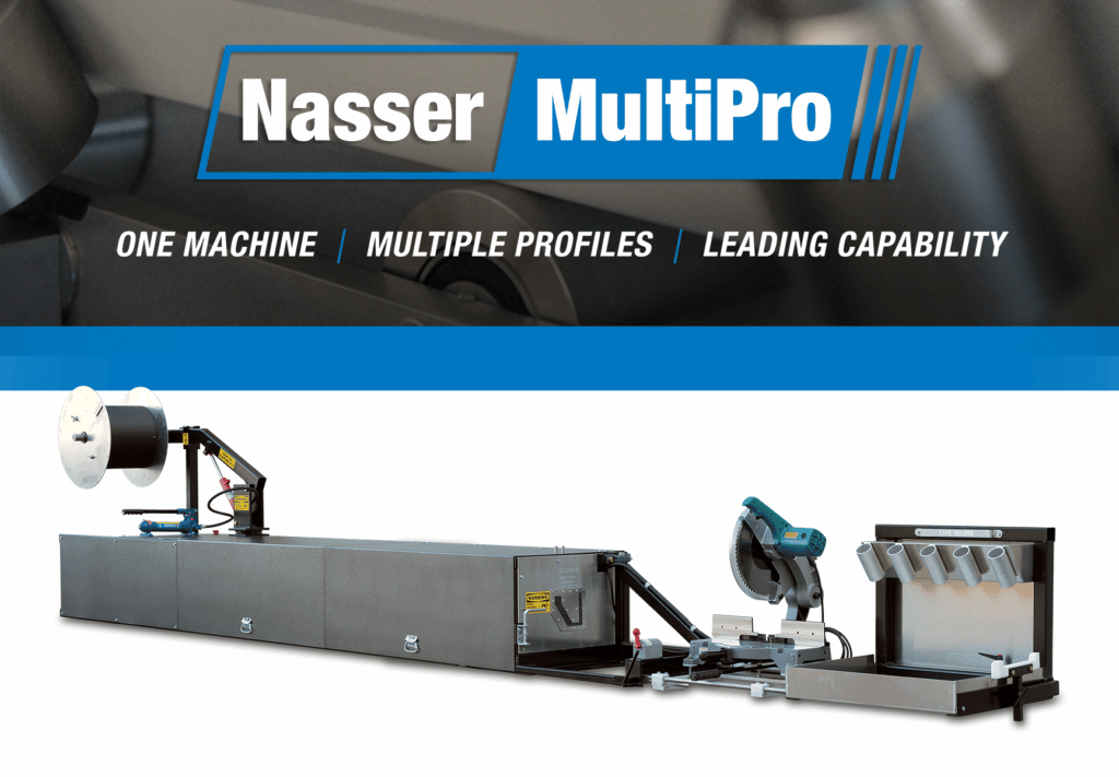 (article) What Is a Nasser MultiPro™ Gutter Machine? Features, Benefits, & Specifications