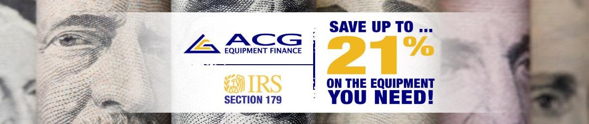 ACG Equipment Finance Flyer