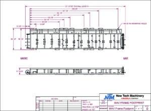 WAV™ Wall Panel Machine FootprintWAV™ Wall Panel Machine Footprint